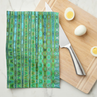 Seagrass Kitchen Towel by Artist C.L. Brown