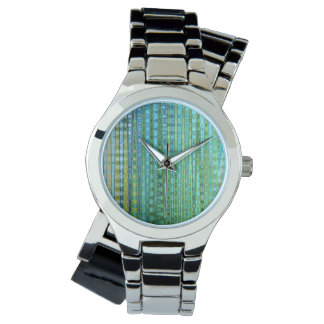 Seagrass Women's Wraparound Silver Watch