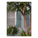Seagreen Shutters Greeting Card