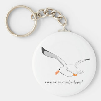 Seagull Basic Round Button Key Ring