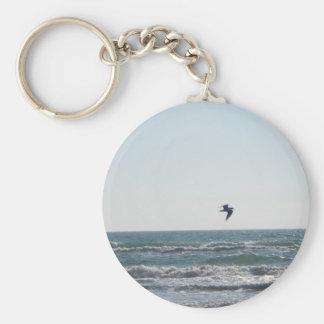 Seagull Basic Round Button Key Ring