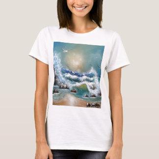 Seagull Beach Design T-Shirt