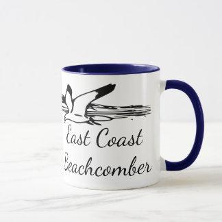 Seagull Beach East Coast Beachcomber coffee mug