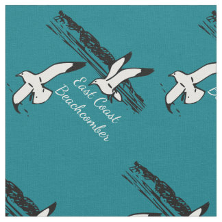 Seagull Beach East Coast Beachcomber fabric