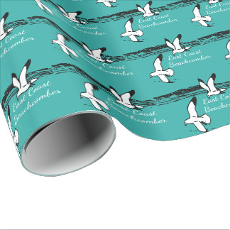 Seagull Beach East Coast Beachcomber gift wrap