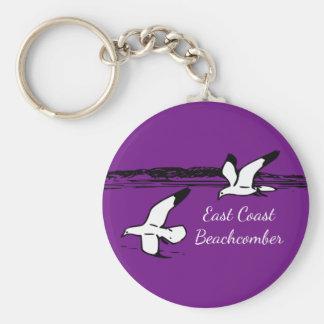 Seagull Beach East Coast Beachcomber key chain
