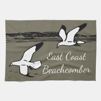 Seagull Beach East Coast Beachcomber kitchen towel
