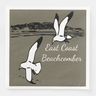 Seagull Beach East Coast Beachcomber  napkins Disposable Serviette