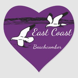 Seagull Beach East Coast Beachcomber sticker