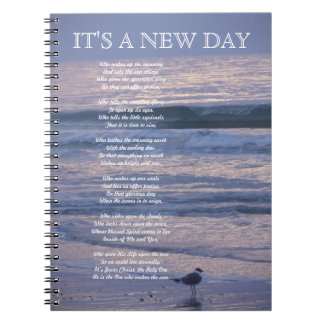 SEAGULL BEACH MORNING NOTEBOOK