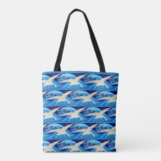 Seagull Birds Beach Ocean Seagulls Bird Sea Water Tote Bag