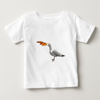 Seagull Breathing Fire Baby T-Shirt