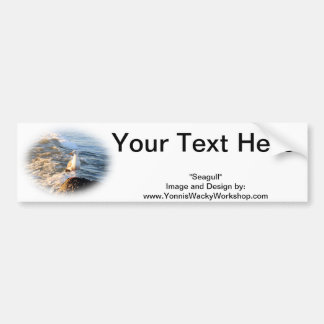 Seagull Bumper Sticker