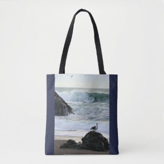 Seagull by the Sea Tote Bag