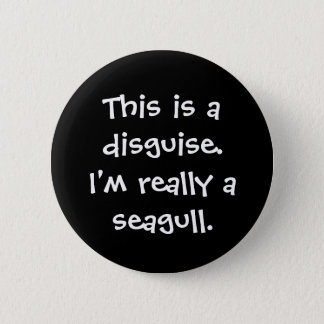Seagull Costume 6 Cm Round Badge