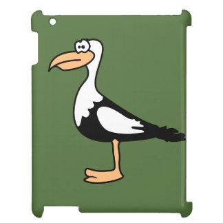 Seagull cute animal motifs iPad case