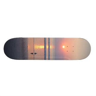 Seagull Daytona Beach FL Ocean Sunrise Skateboard