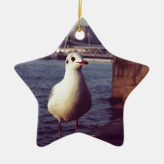 seagull christmas ornament