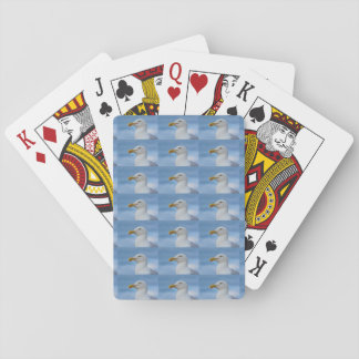Seagull Design Playing Cards