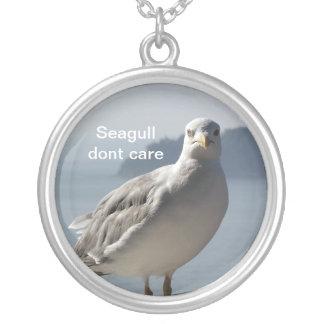 Seagull dont care pendant