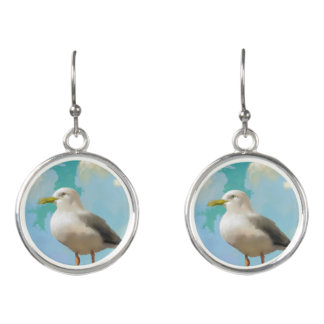 Seagull Earings Earrings