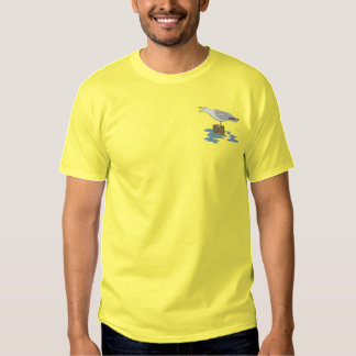 Seagull Embroidered T-Shirt