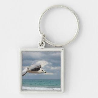 Seagull Flight Key Ring