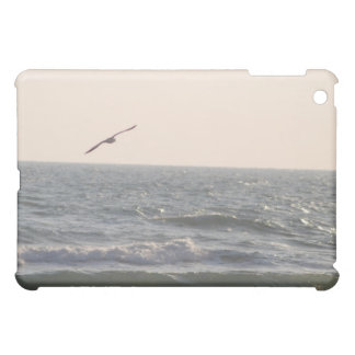 seagull flying high over iPad mini cover