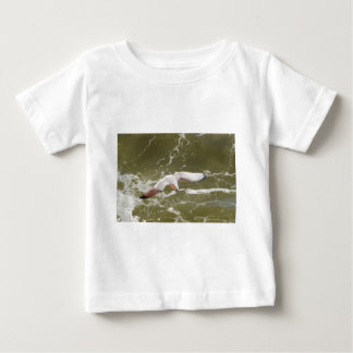 Seagull Gliding Over The Waves Baby T-Shirt