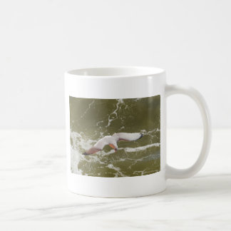 Seagull Gliding Over The Waves Coffee Mug