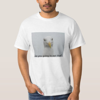 Seagull hoping for a handout T-Shirt