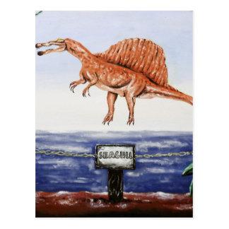 Seagull In Flight- Custom Print! Postcard