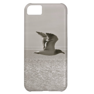 SEAGULL IN FLIGHT, MODERN DESIGN, UNIQUE LOOK iPhone 5C CASE