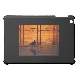 Seagull in the Sunset Cover For The iPad Mini