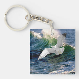 """Seagull"" Keychain"