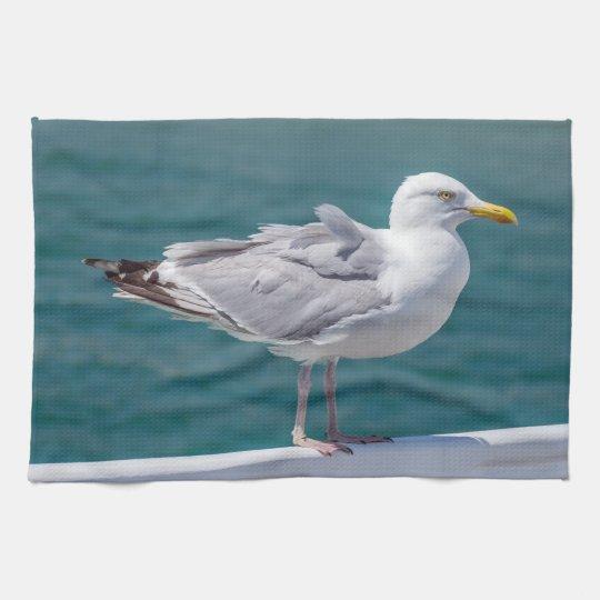 Seagull kitchen towel