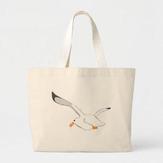 Seagull Large Tote Bag
