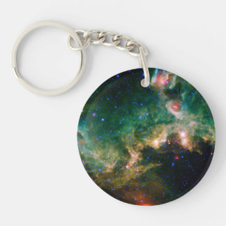 Seagull Nebula NASA Space Acrylic Key Chain