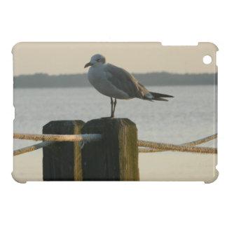 Seagull on a Post iPad Mini Cover