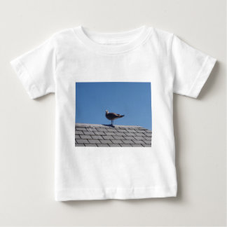 Seagull On A Slate Roof Baby T-Shirt