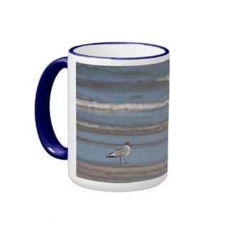 Seagull on Beach Mug