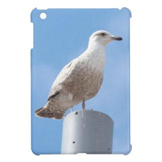 Seagull on pole iPad mini covers