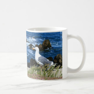 Seagull on the Pacific Coast, Mug