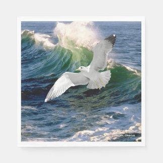 """""""Seagull"""" Paper Napkins"""