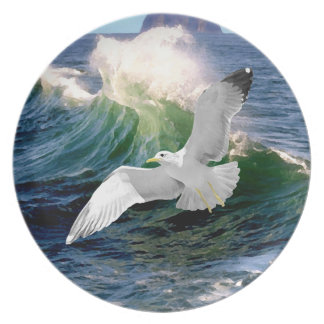 """""""Seagull"""" Plate"""