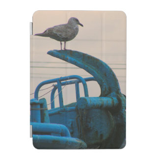 Seagull Rests On Anchor Of Ship | Choshi iPad Mini Cover