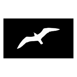 Seagull Shape Business Card Template