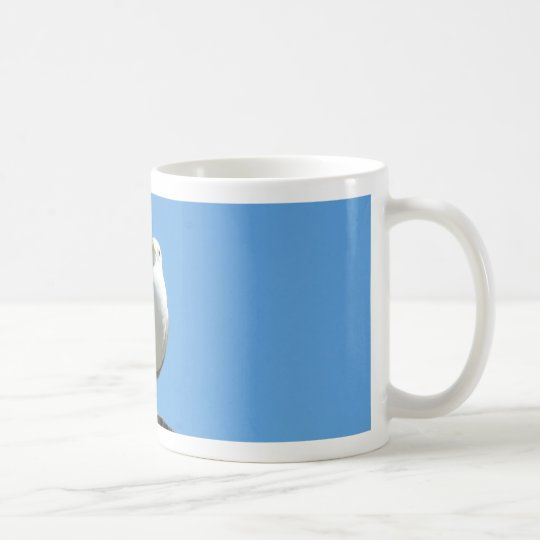 Seagull Standing On Wood Coffee Mug