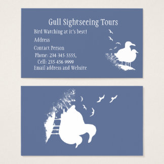 Seagull Tourism, Birding Nature Tours Business Business Card