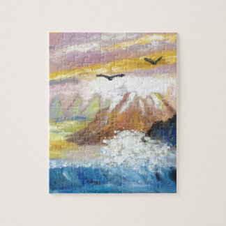 Seagull View by KatGibsonArt.JPG Jigsaw Puzzle